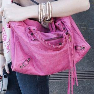 100% Authentic Balenciaga city studs handbags